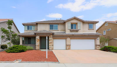 Palmdale Single Family Home For Sale: 39106 Silverberry Lane