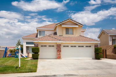 Palmdale Single Family Home For Sale: 36548 Peridot Lane