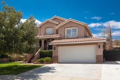 Palmdale Single Family Home For Sale: 1864 Quartzite Street