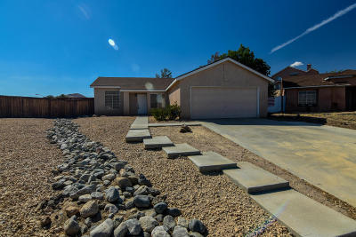 Rosamond Single Family Home For Sale: 3841 Springfield Court