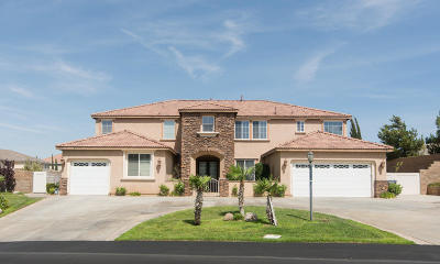 Palmdale Single Family Home For Sale: 40930 Woodshire Drive