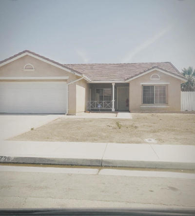 Rosamond Single Family Home For Sale: 3726 Arbor Avenue