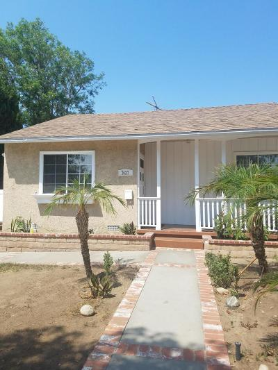 Van Nuys Single Family Home For Sale: 7427 Blewett Avenue