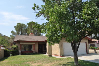 Palmdale Single Family Home For Sale: 2522 Poker Plant Court