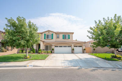 Lancaster Single Family Home For Sale: 5772 W Avenue J14