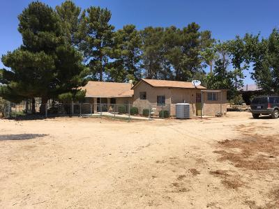 Rosamond Single Family Home For Sale: 4472 W 145th Street