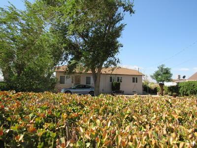 Rosamond Single Family Home For Sale: 9650 W Rosamond Boulevard
