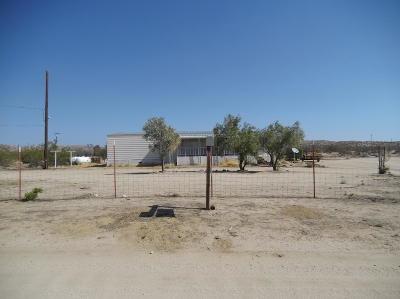 Rosamond Single Family Home For Sale: 3645 Beaudette