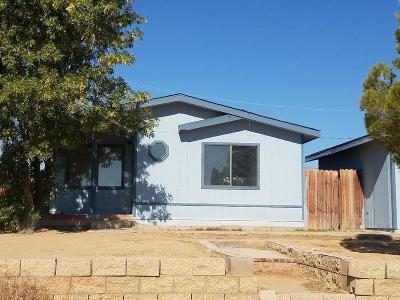 California City Single Family Home For Sale: 20925 78th Street