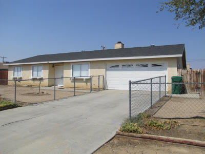 California City Single Family Home For Sale: 20601 Medio Street