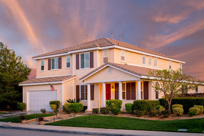 Palmdale Single Family Home For Sale: 3610 Tournament Drive
