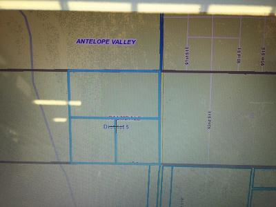 Palmdale Residential Lots & Land For Sale: Vic 90th St. East & Ave Q