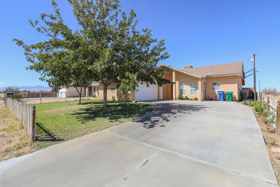 California City Single Family Home For Sale: 8223 Dogbane Avenue