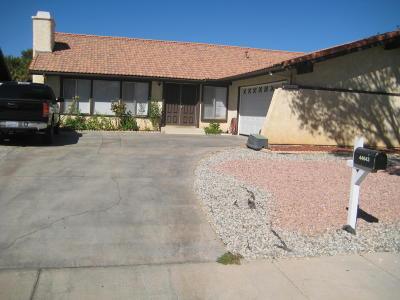 Lancaster Single Family Home For Sale: 44643 E 13th Street
