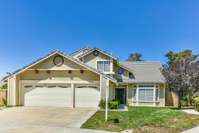 Palmdale Single Family Home For Sale: 2001 Falcon Avenue