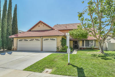 Palmdale CA Single Family Home For Sale: $379,000