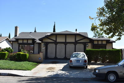 Palmdale CA Single Family Home For Sale: $289,900