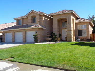 Lancaster Single Family Home For Sale: 4026 Via Rebecca
