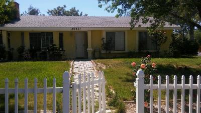 Littlerock Single Family Home For Sale: 36937 E 95th Street