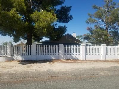 Llano Single Family Home For Sale: 21123 Fort Tejon Road
