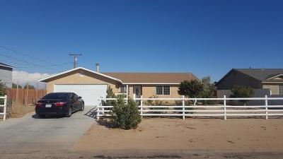 California City Single Family Home For Sale: 20248 Graham Street