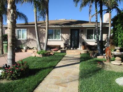 Single Family Home For Sale: 8837 Murietta Avenue