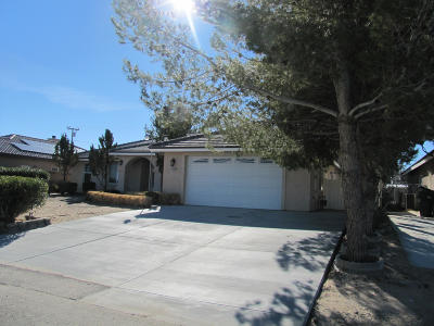 California City Single Family Home For Sale: 10140 Mendiburu Road