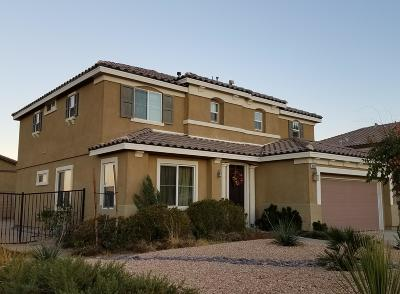 Palmdale Single Family Home For Sale: 38592 Persian Way