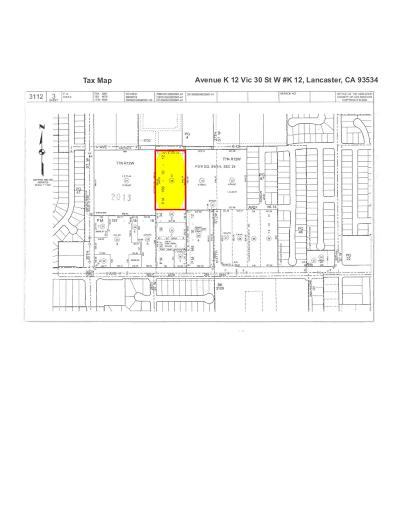 Lancaster Residential Lots & Land For Sale: Avenue K 12 Vic 30 Street