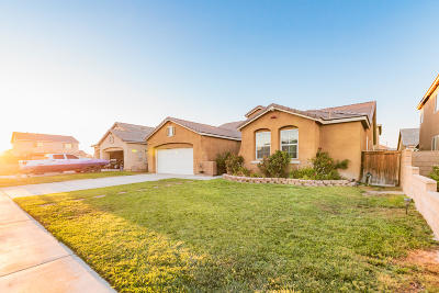 Rosamond Single Family Home For Sale: 3215 Tumbleweed Avenue