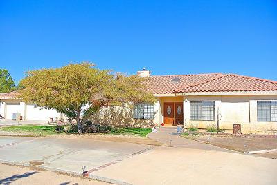 Lancaster Single Family Home For Sale: 8549 W Avenue D2