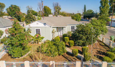 Panorama City Single Family Home For Sale: 8102 Burnet Avenue