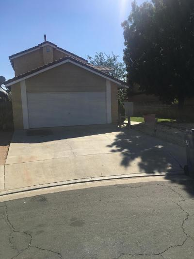 Palmdale Single Family Home For Sale: 3458 San Clemente Court
