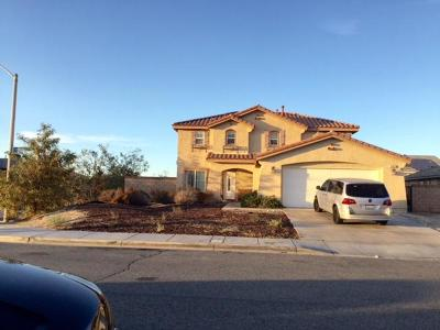 Palmdale CA Single Family Home For Sale: $359,900