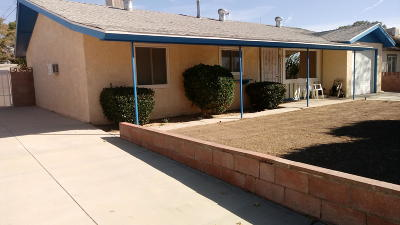 Rosamond Single Family Home For Sale: 3410 Haven Street