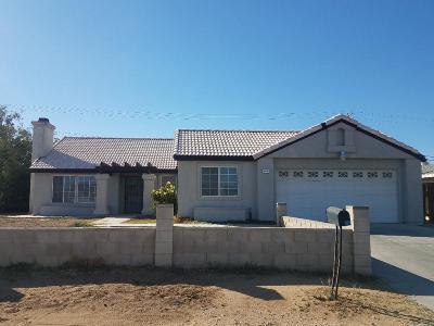 California City Single Family Home For Sale: 20261 81 Street