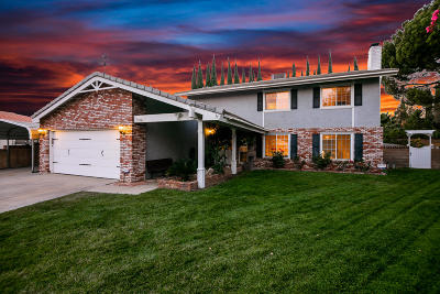 Palmdale CA Single Family Home For Sale: $419,900