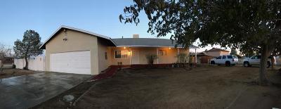 California City Single Family Home For Sale: 20548 Neuralia Road