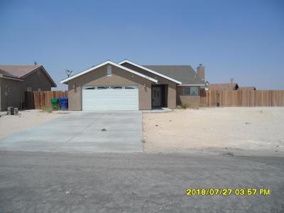 California City Single Family Home For Sale: 10733 Garibaldi Drive