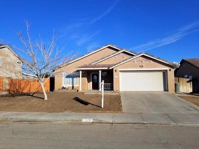 Rosamond Single Family Home For Sale: 3825 Parkridge Avenue