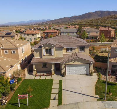 Palmdale Single Family Home For Sale: 37423 Peachwood Place