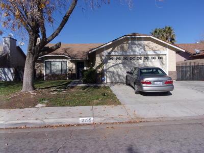 Lancaster Single Family Home For Sale: 2155 W Avenue K15