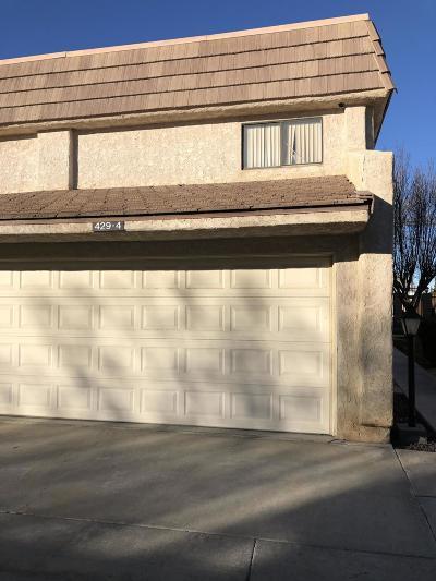 Lancaster Condo/Townhouse For Sale: 429 W Avenue J5 #Unit 4