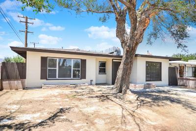 Mojave Single Family Home For Sale: 2045 Shasta Street