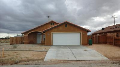 California City Single Family Home For Sale: 7860 Poppy Boulevard