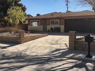 Mojave Single Family Home For Sale: 2874 Corona Avenue