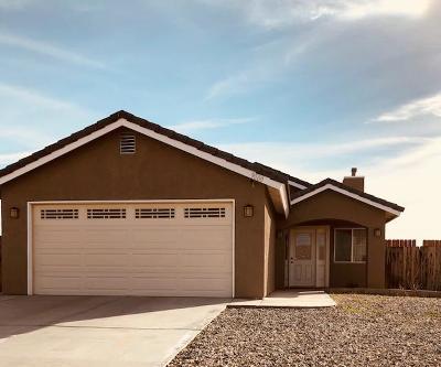 California City Single Family Home For Sale: 9000 Rea Avenue
