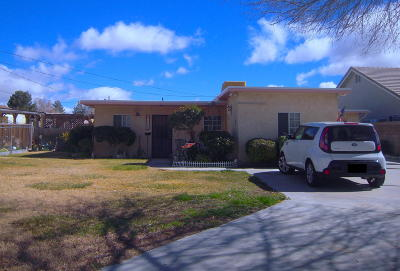 Single Family Home For Sale: 43510 W 18th Street