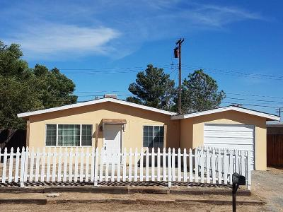 Mojave Single Family Home For Sale: 3234 Gregory Drive
