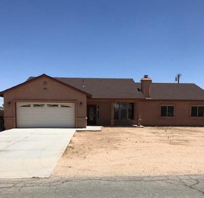 California City Single Family Home For Sale: 20624 Lasky Street